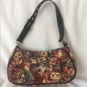 Sydney Love faux leather print bag